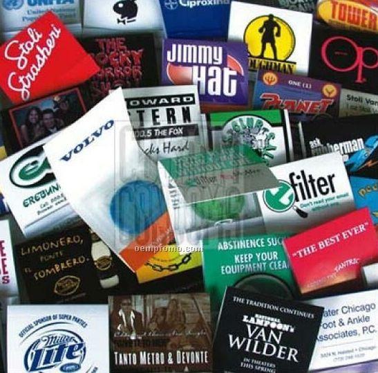 Custom Condom Matchbooks