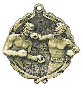"Medal, ""Boxing"" - 1-3/4"" Wreath Edging"
