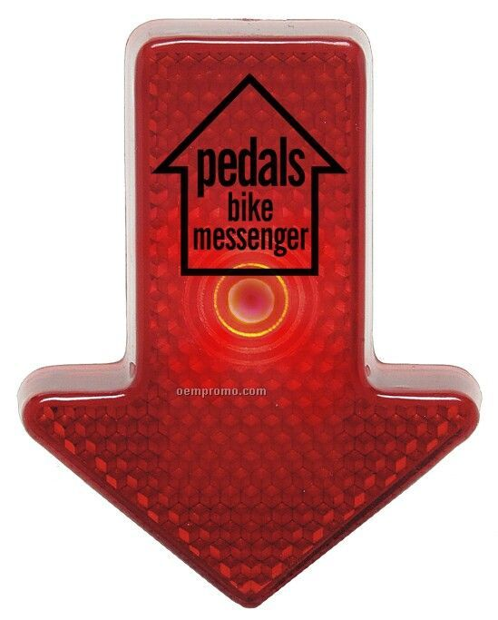 Safety Reflector Arrow (Red Led)