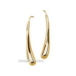 14ky Electroform Metal Fashion Earring
