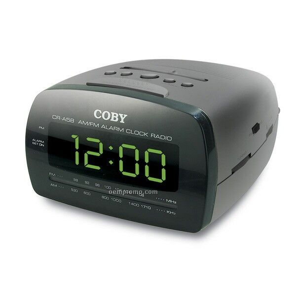 coby green led digital am fm alarm clock radio china wholesale coby green led digital am fm. Black Bedroom Furniture Sets. Home Design Ideas