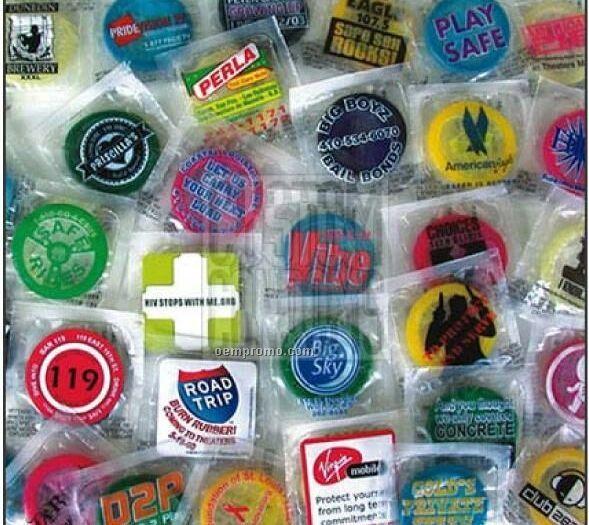 Custom Bulk Condoms W/ Clear Label