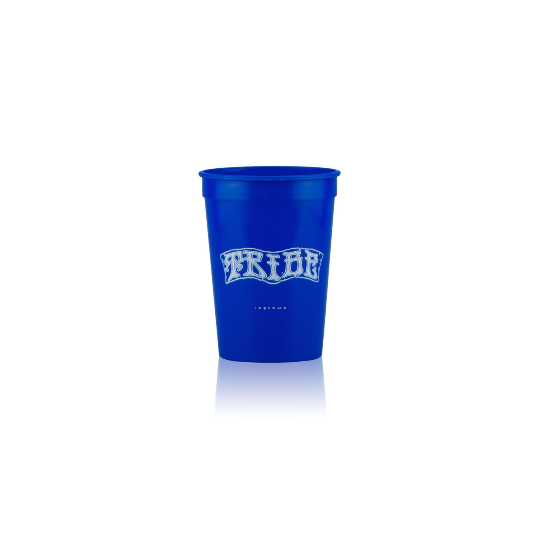 12 Oz. Stadium Cup (Blue)