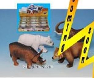 4-d Puzzle/ Bears/ Rhinos/ Polar Bears/ Elephant Set