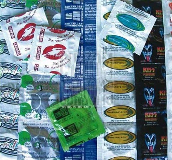Custom Foil Wrappers Condom