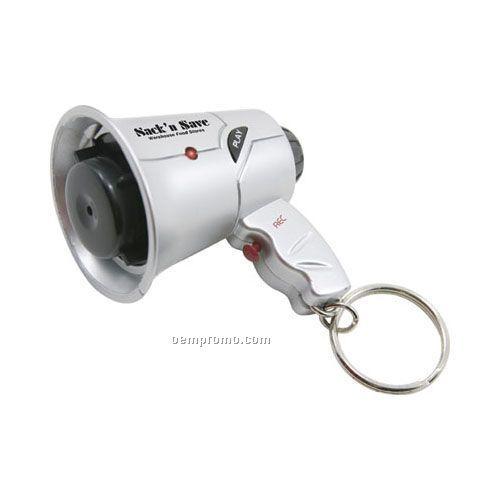 Megaphone Key Ring Recorder