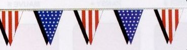 60' American Pennant Streamers