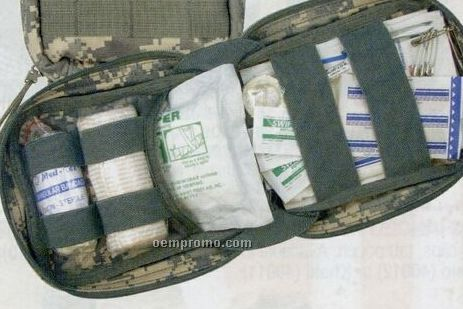 Army Digital Camouflage Military Molle Tactical Trauma First Aid Kit