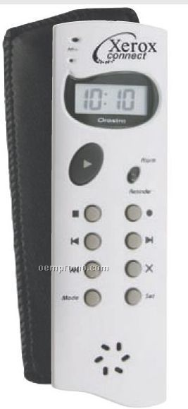 Die Cast 120 Second Digital Recorder & Reminder