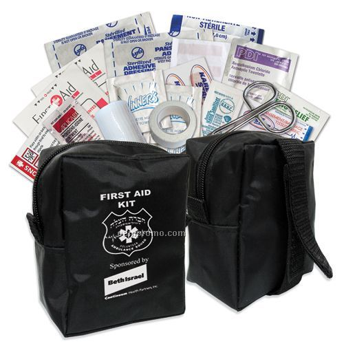 First Aid Kit W/Reusable Nylon Bag