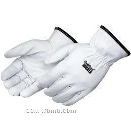 Premium Grain Goatskin Driver Gloves (S-xl)