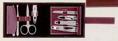 Quality Manicure Kit W/ Leather Case