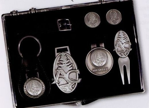 The Atlantic Kit (Key Chain/ Bag Tag/ Money Clip/ Marker/ Divot)