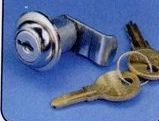 Cleat Box Cylinder Lock W/ Keys