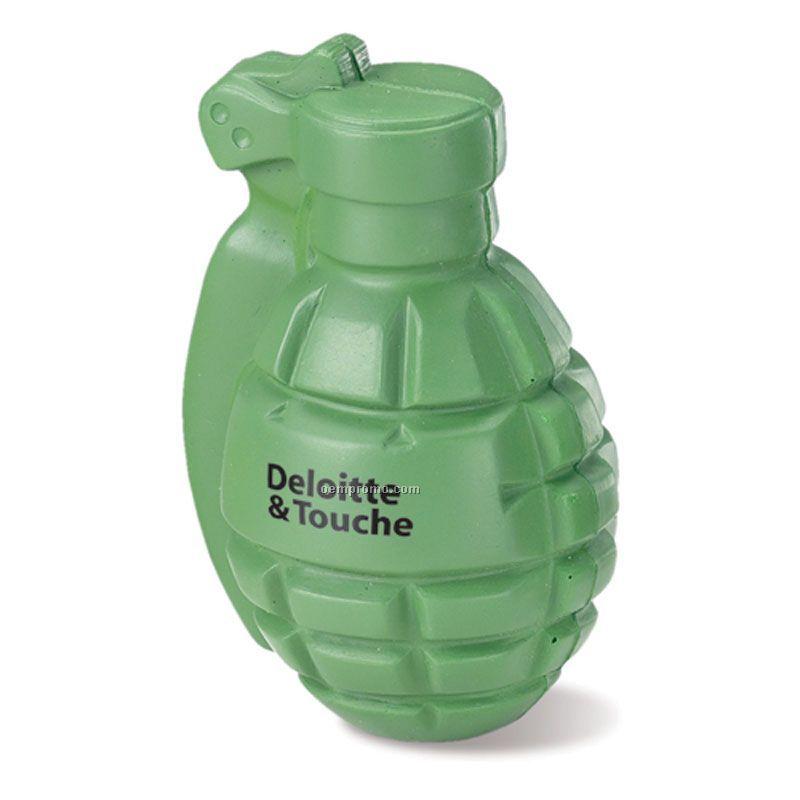 Hand Grenade Squeeze Toy
