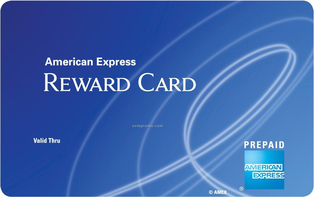 $100 American Express Reward Card