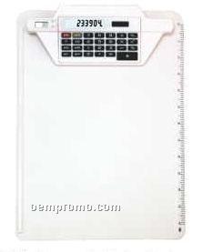 Clipboard Calculator W/ Clock