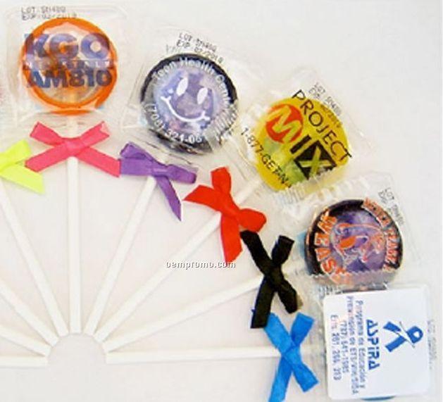 Custom Condom Pops W/ Clear Label