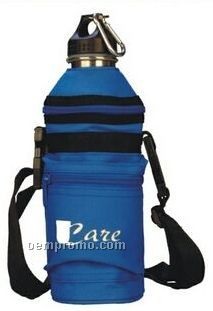 Large Insulated Water Bottle Holder