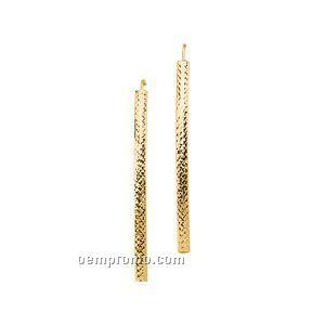 14ky Linear Earrings