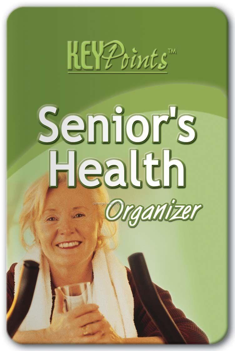 Pillowline Senior's Health Organizer