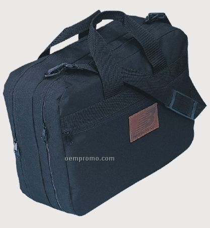 600 Denier Polyester Double Compartment Briefcase