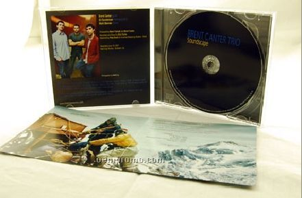 CD Replication In Jewel Case W/ 4 Panel 4/4 Insert /Tray