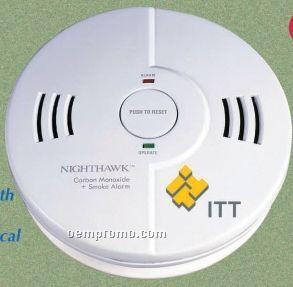 Combination Smoke / Fire & Carbon Monoxide Alarm - Screen Printed