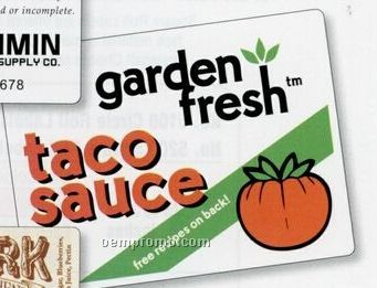 Custom Rectangle Roll Labels (0.50 To 3.75 Sq. Inch)