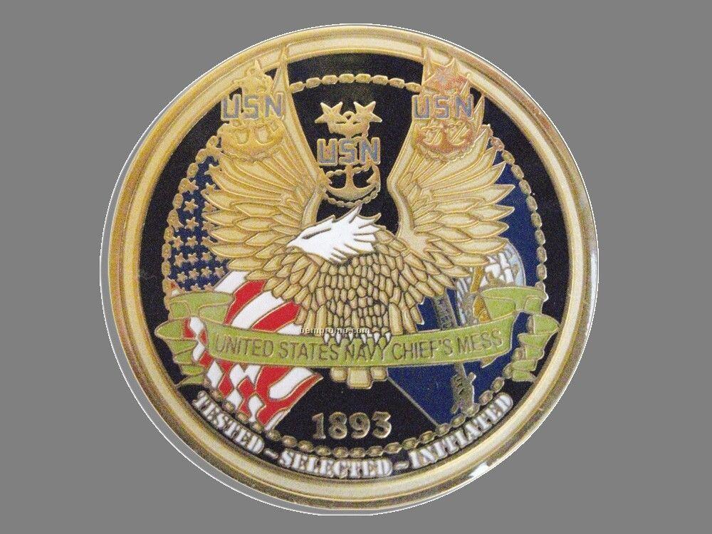 """Die Struck Iron Coin (2"""")"""