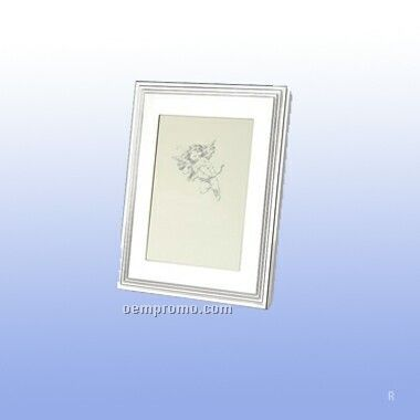 Silver Plated Rectangular Photo Frame (Screened)