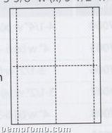 """Vertical Format Insert - 3 5/8""""X5 1/2"""""""