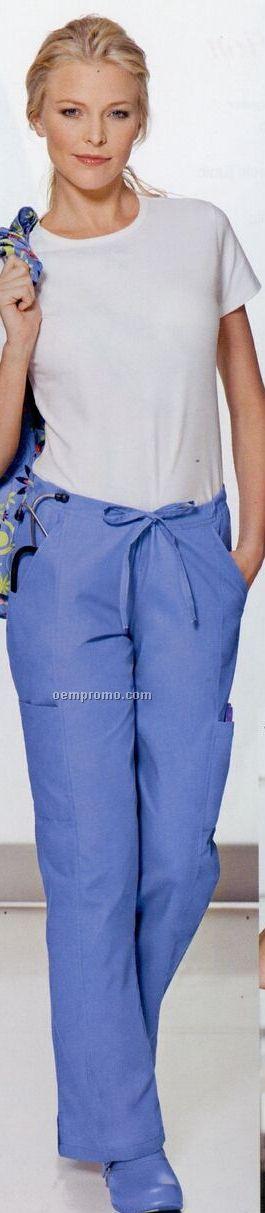 Women's 65/35 Poly/ Cotton Cargo Pants