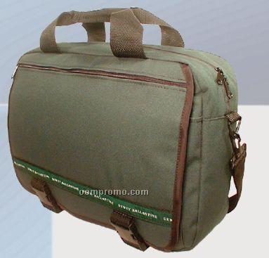 600 Denier Polyester Front Flap Deluxe Attache