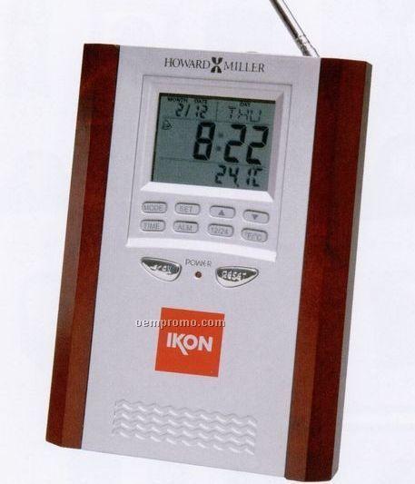 Howard Miller Tune-in Alarm Clock Radio (Blank)