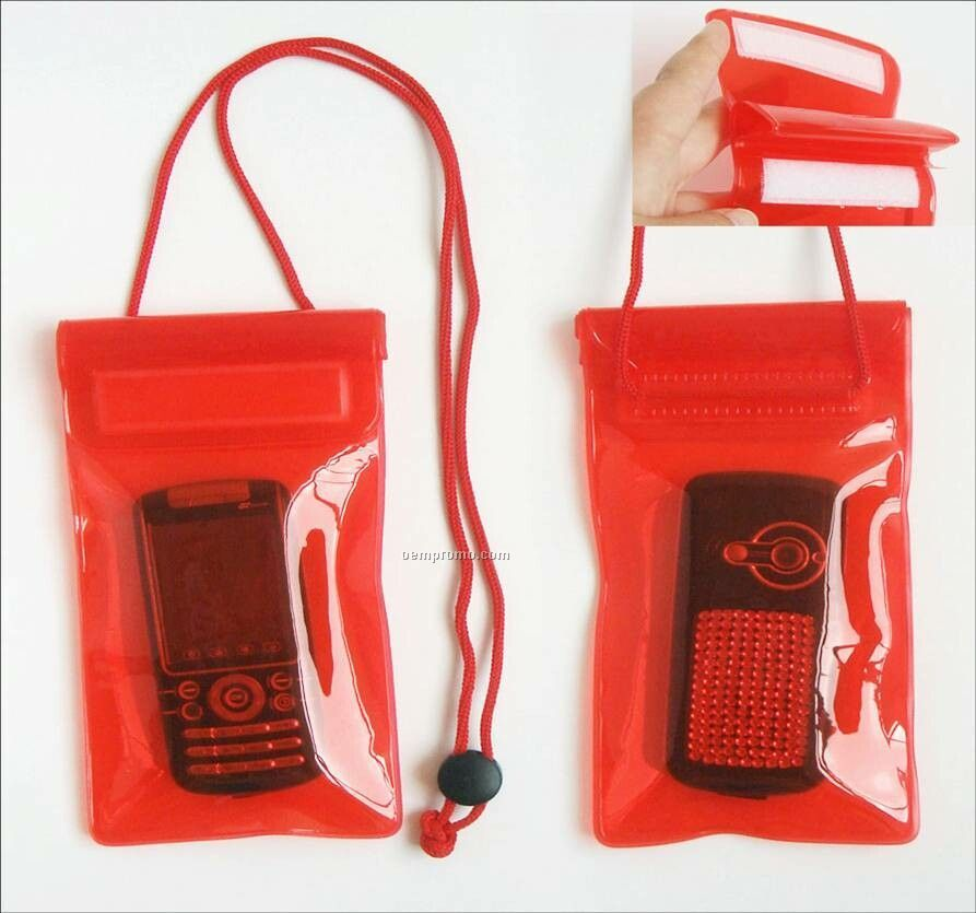 "Waterproof Bag For Mobile Phone (3.54""X7.09"") )"