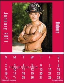 Firemen Press-n-stick Calendar (After 08/01/2011)