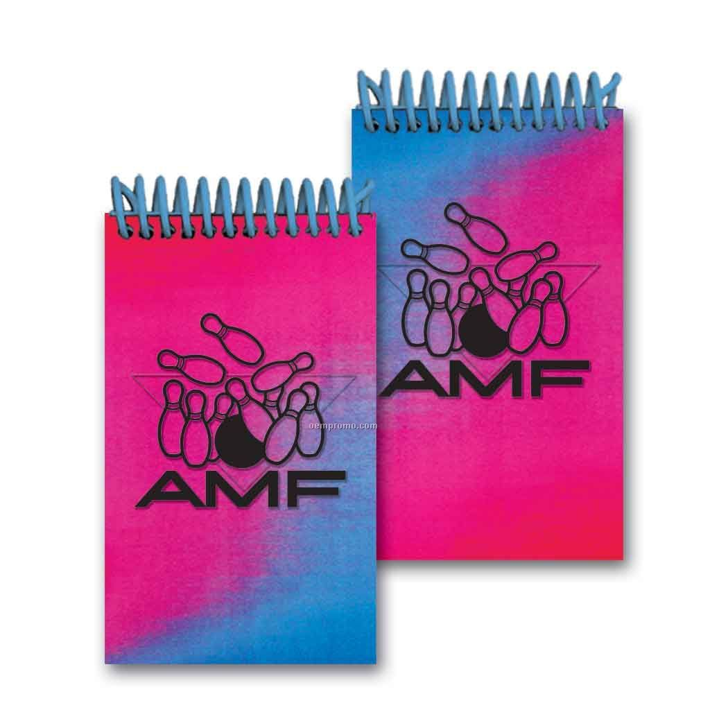 3d Lenticular Mini Notebook Stock/Changing Colors (Custom)
