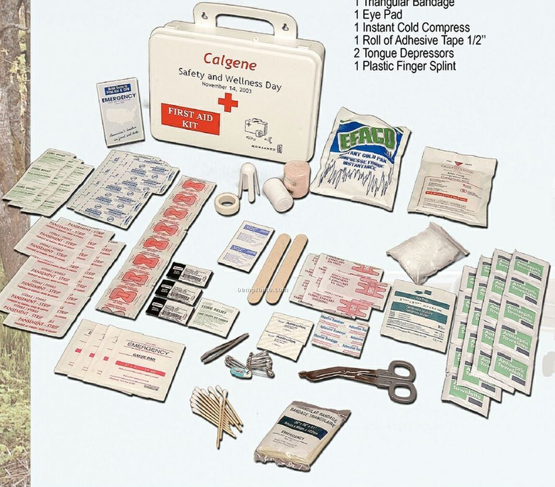Household First Aid Kit
