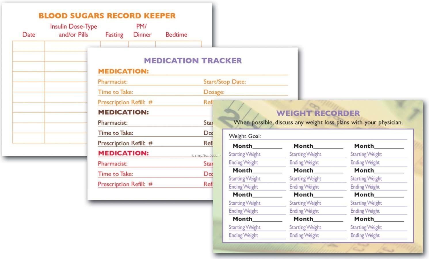 Pillowline Med-tracker Planner