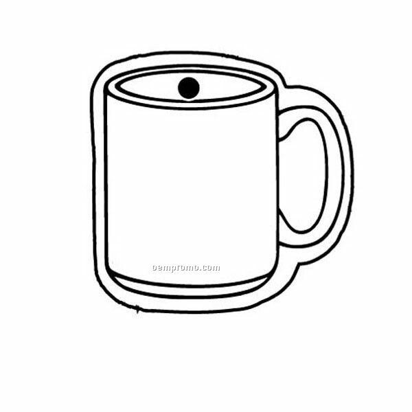 Stock Shape Collection Mug Key Tag