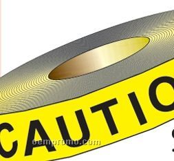 """Stock Traffic Control Barrier Tape - Caution (1200'x3"""")"""