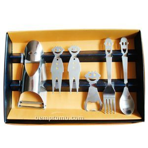 6-piece Smile Flatware Set