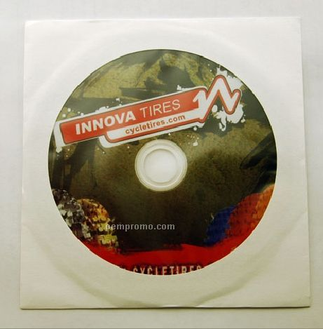 CD Replication In White Paper Sleeve