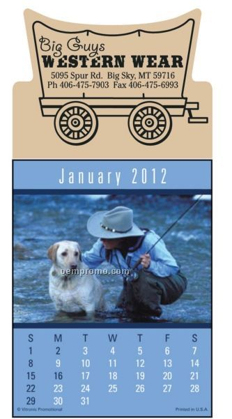 Sportsmen Press-n-stick Calendar (Thru 08/01/2011)