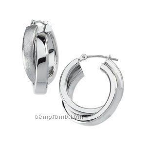 14kw Tube Earrings