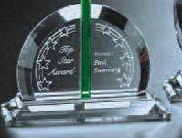 "Emerald Gallery Bellingham Award (6"")"