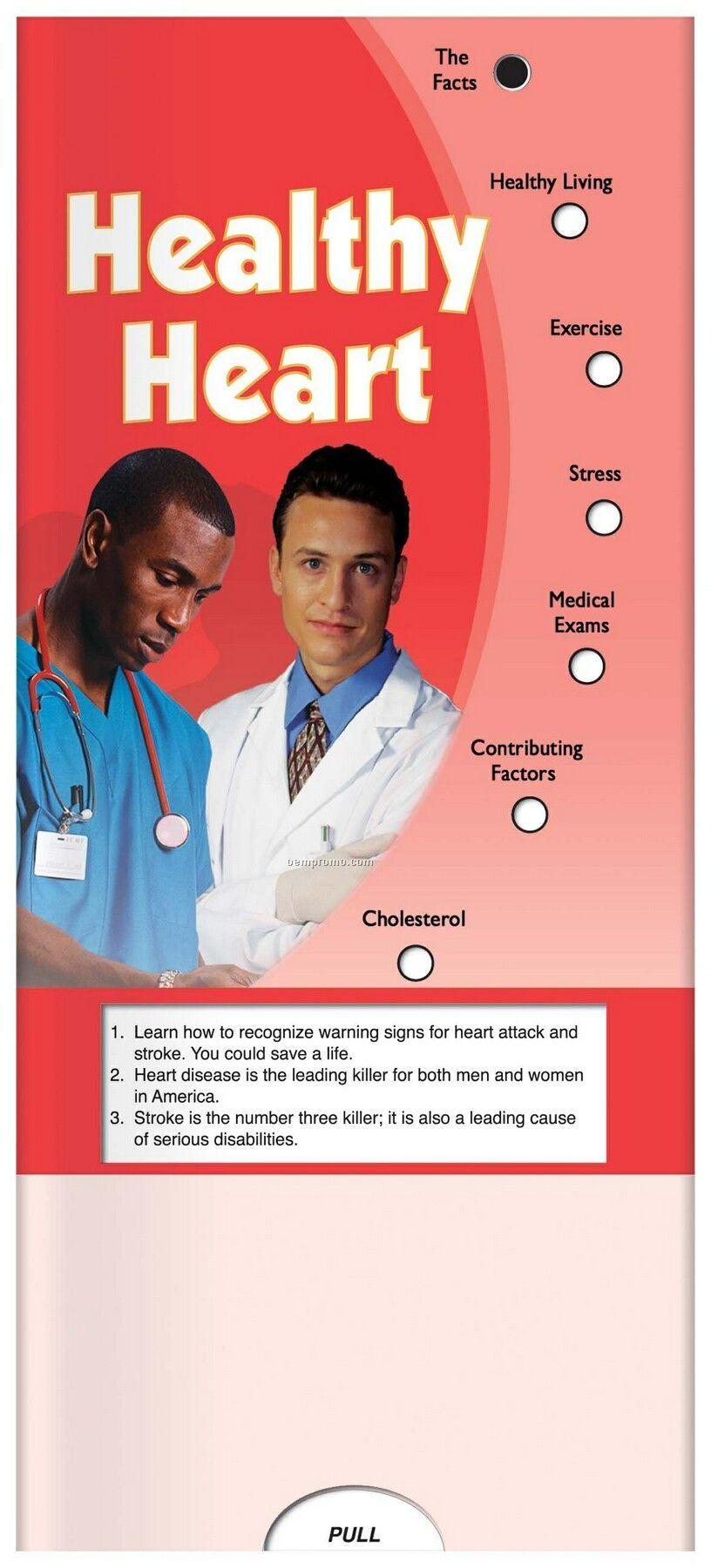 Pillowline Healthy Heart Pocket Slider Chart