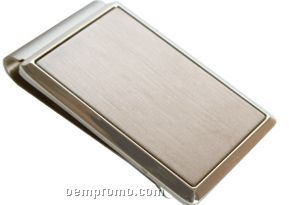 Rectangular Metal Money Clip