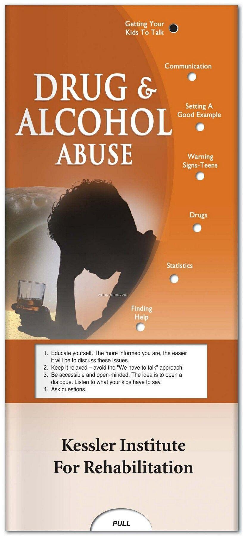 Pillowline Drug & Alcohol Abuse Pocket Slider Chart